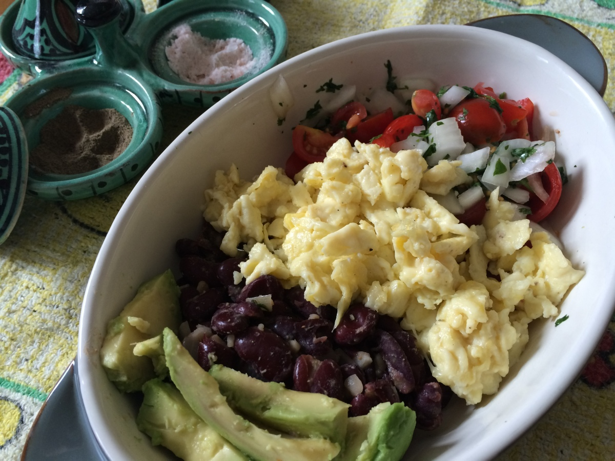 Nutritional Brunch (Mexican Style) - Brunch Nutritivo (Estilo Mejicano)